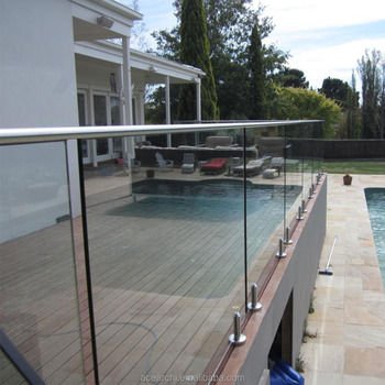 Stainless steel spigot handrail for porch swimming pool - Removable swimming pool handrails ...