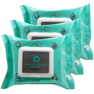 Female Lady Face Make-Up Cleaning Wet Wipes