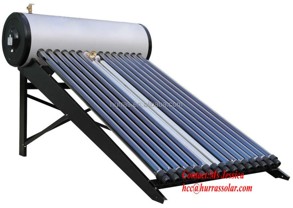 HES compact pressured solar water heater for shower