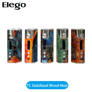 Elego Offer Arctic Dolphin Arthur 80W TC Stabilized Wood Mod&Dolphin 80w TC Box Mod