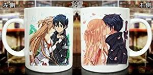 Buy Sao Sword Art Online Cosplay Anime Mug Coffee Tea Cup Couple In