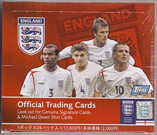 2005 Topps England Soccer Box from Japan-averages 7-10 David Beckham Cards in every Box. Look For Autograph and Memorabilia Cards $150 !