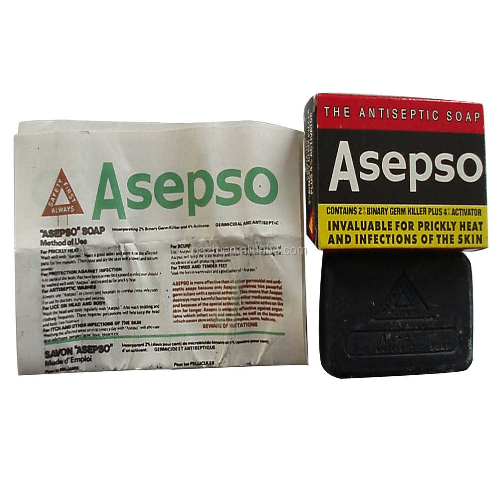 85g African Black Soap Manufacturer Buy Soapblack Asepso Plus Antiseptic Soapsoap Product On