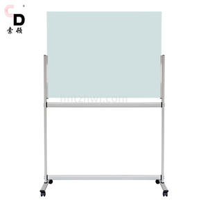 Glass white board standing magnetic whiteboard