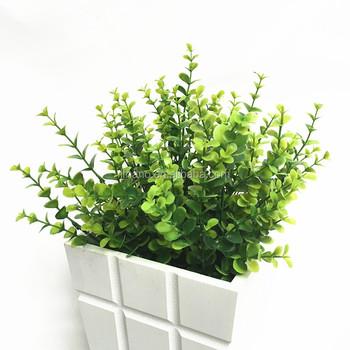 Diy decorativo flores accesorios de pl stico plantas for Plastico para estanques artificiales