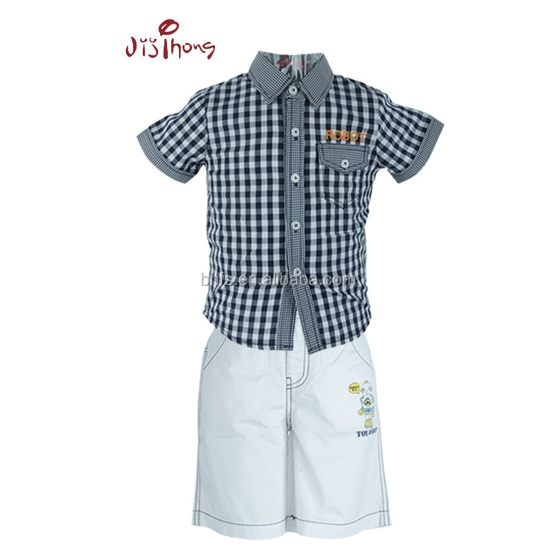 2016 Baby Boy Dress Designs Children Clothes Model