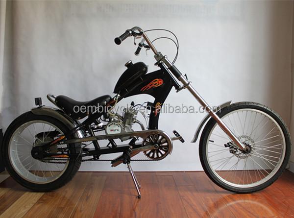 26 zoll chopper benzin fahrrad mit gasmotor fahrrad. Black Bedroom Furniture Sets. Home Design Ideas