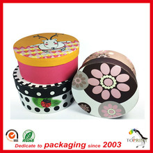Custom pantone printing paper tube cake packaging box eco friendly cylinder box containers