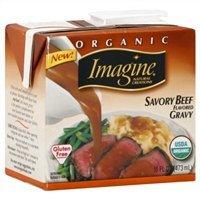 Imagine Organic Gravy, Savory Beef Flavored, 16 Oz. (Pack of 6)