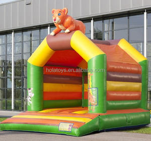 New lion bouncy castle/bounce house/bounce house with slide