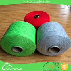 Trade Assurance 65% cotton 35% polyester 14s oe recycled cotton yarn