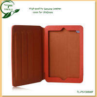 Smart leather Case for ipad mini with fashionable design,factory lowest price for ipad mini real leather case