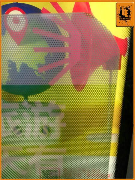 Adhesive Vinyl Film Microperforated Buy Adhesive Vinyl