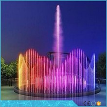 Facory price vaious shapes dancing musical water fountains design and construction music fountain