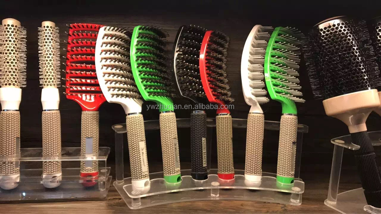 Custom afro plastic hair combs