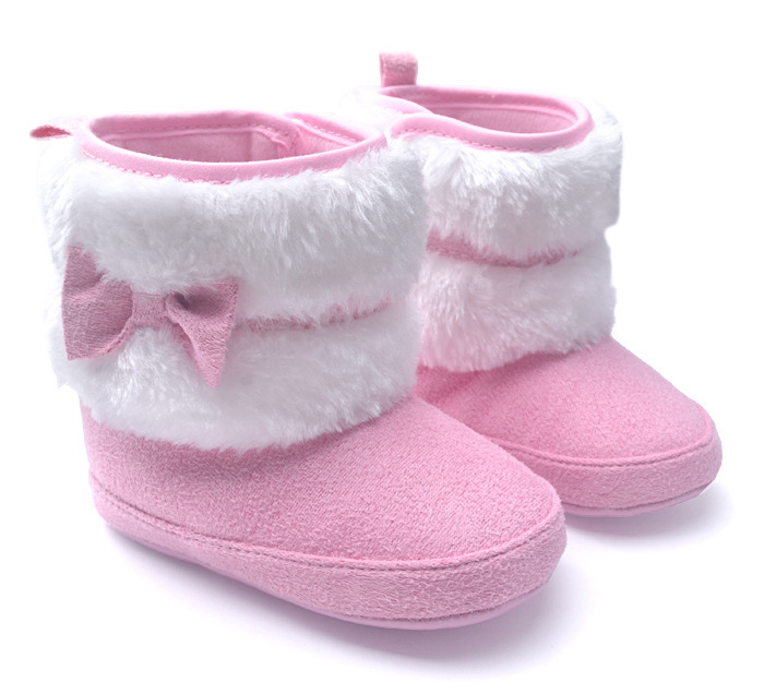 68f7a5611 Buy Baby girl Princess Cotton boots toddler girl winter shoes children  chaussures fille zapatos bebes sapato menina 1-3 years old in Cheap Price  on ...