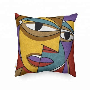 Monad Good Quality Cushion Picasso 100% Cotton Throw Pillow Cover