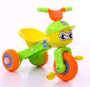 On Sale Cute Plastic Children Baby Tricycle / Cheap Baby Trike has BIS Certificate for India Market