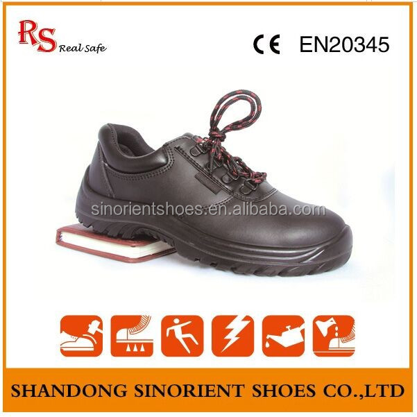 Brand name safety shoes low price , European safety shoes models ,No brand name Black rhino safety shoes Low cut RS104