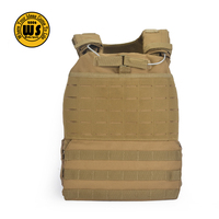 Newest Laser-cut Tactical Military Molle Heavy Plate Carrier Vest