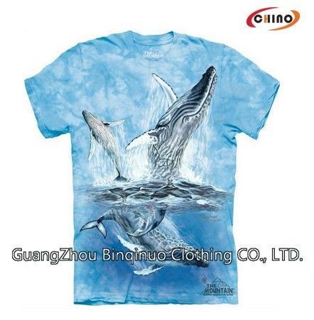 100% Polyester Customized Cotton Brand Own T-shirt Supplier
