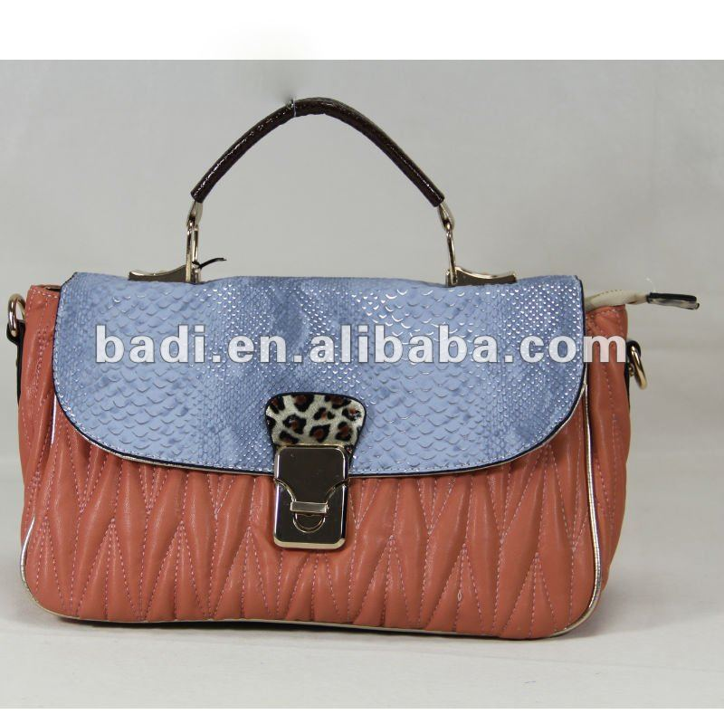 Fashionable angola leather bag
