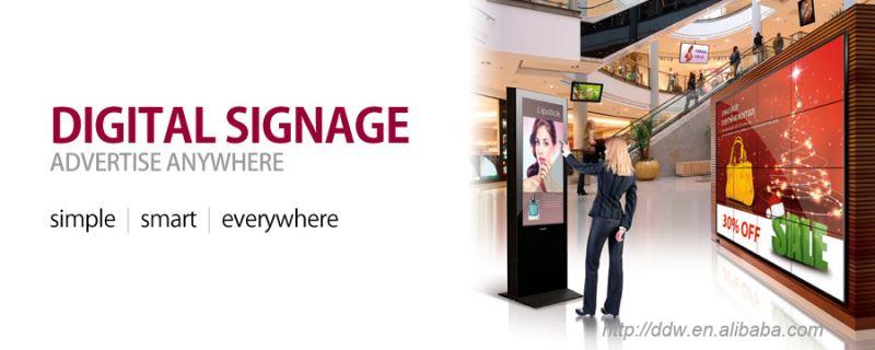 China Kiosk Manufacturer Ddw-ad5501sn Media Player Advertising ...