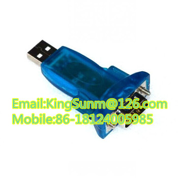 Hl-340 New Usb To Rs232 Com Port Serial Pda 9 Pin Db9 Adapter ...