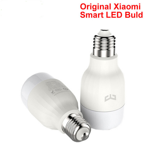 100% Original xiaomi Mi Smart LED <strong>Bulb</strong> Yeelight , Wifi Remote Control Adjustable Brightness Eyecare Light Smart <strong>Bulb</strong> WHITE COLOR