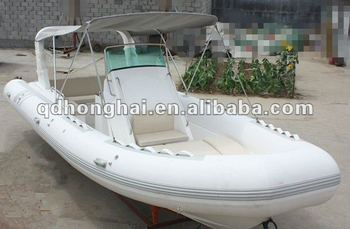 Ce 7 3m Orca Hypalon Material Fiberglass Inflatable Rib Boat For Sale - Buy  Military Rib Boats For Sale,Hypalon Rigid Inflatable Boat,Rib Fishing Boat