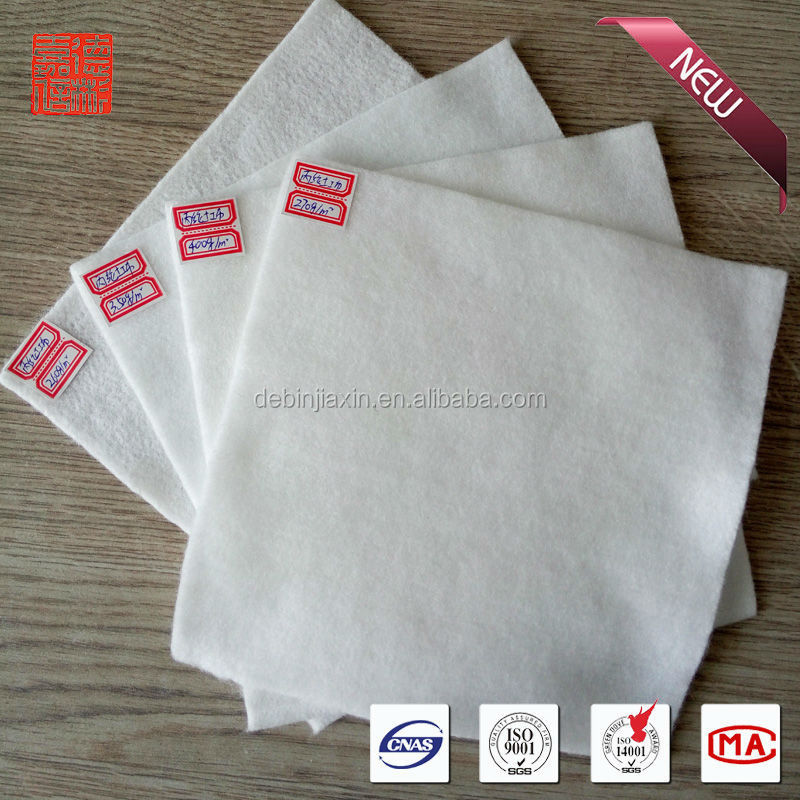 non-woven geotextile sizes price 500g for road