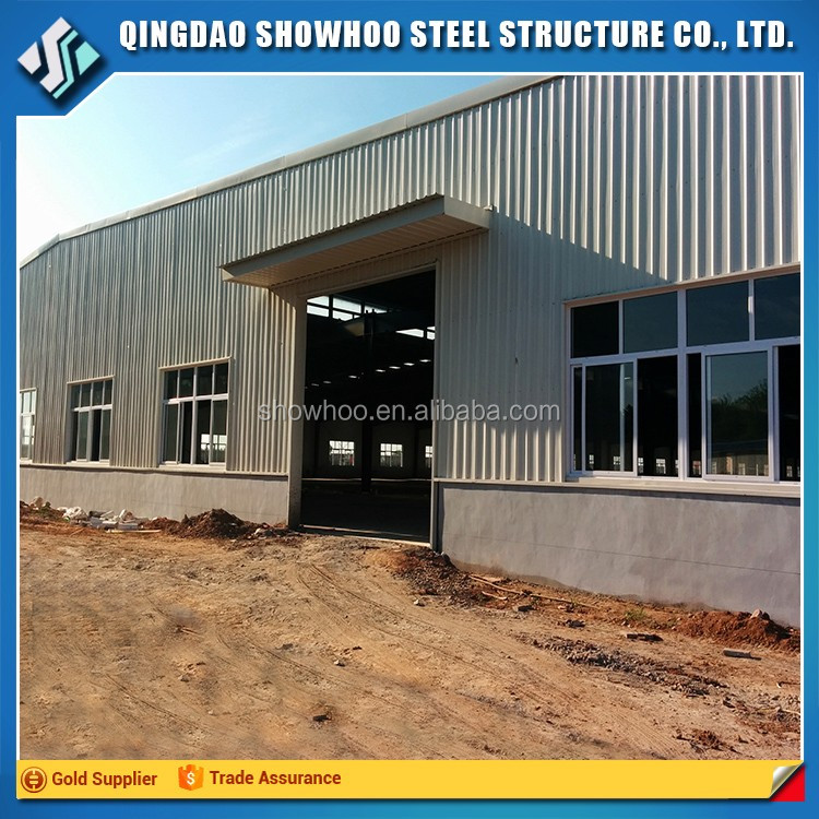 Prefabricated steel structure industrial hangar modular building for sale
