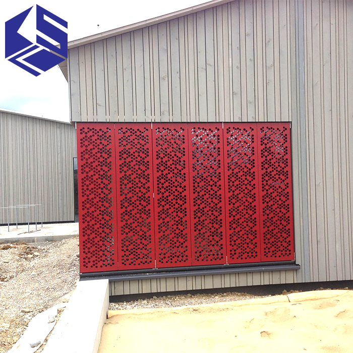 High quality outdoor metal screen stainless steel screen folding room divider