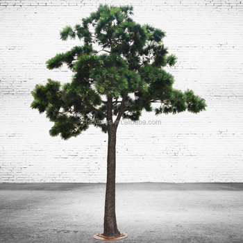 Large Plastic Pine Tree For Greenscape Decoration