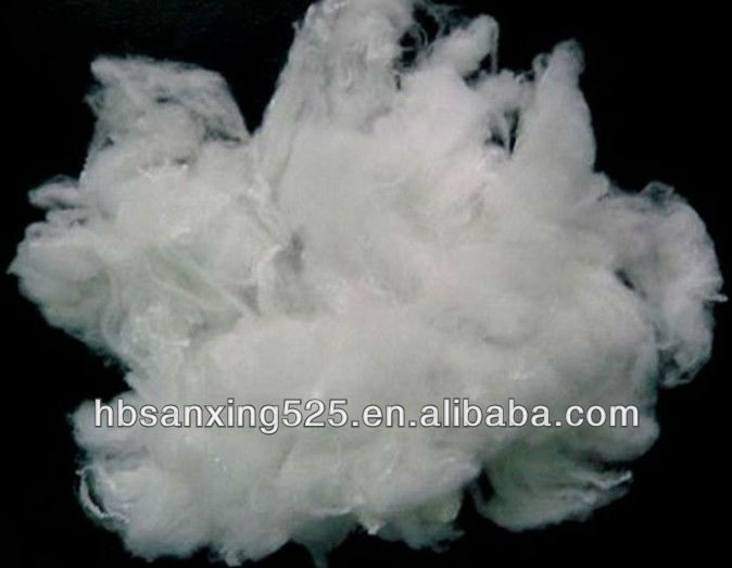 HOT~~2013 new arrival ecological 100% PLA fiber 3-12D*32-102MM for pillow and bedding