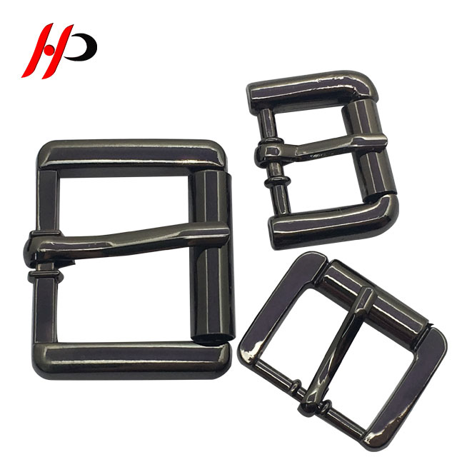 Wholesale Factory Designer Iron Metal Clip Roller Pin Blank Belt Buckle Men