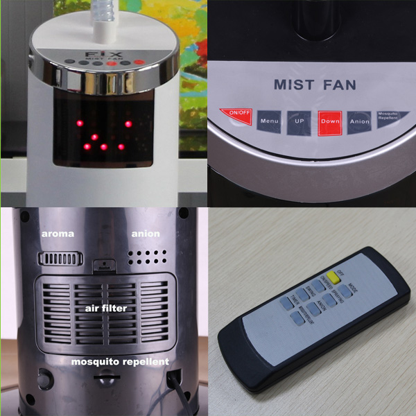 High Quality Price Mist Fan Water Fan Cooler Stand Fan - Buy Price ...