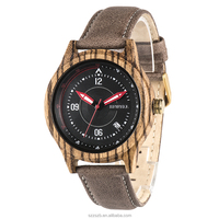 BEWELL Official Site New Products Unique Design Mens Wrist Watch With Genuine Leather Strap Quartz Wood Watches