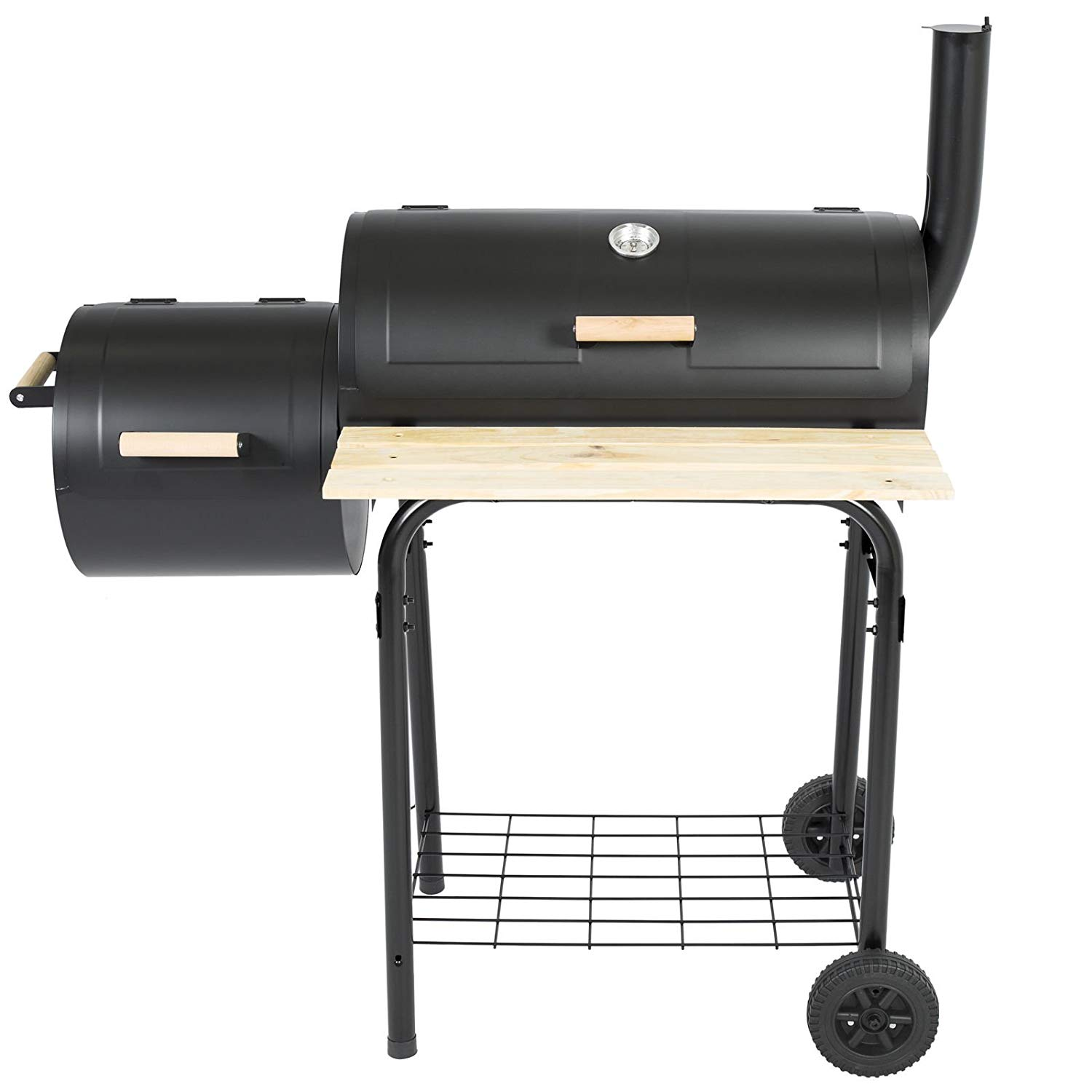 Get Quotations Dzvex Bbq Grill Charcoal Barbecue Patio Backyard Home Meat Smoker And Wood Best