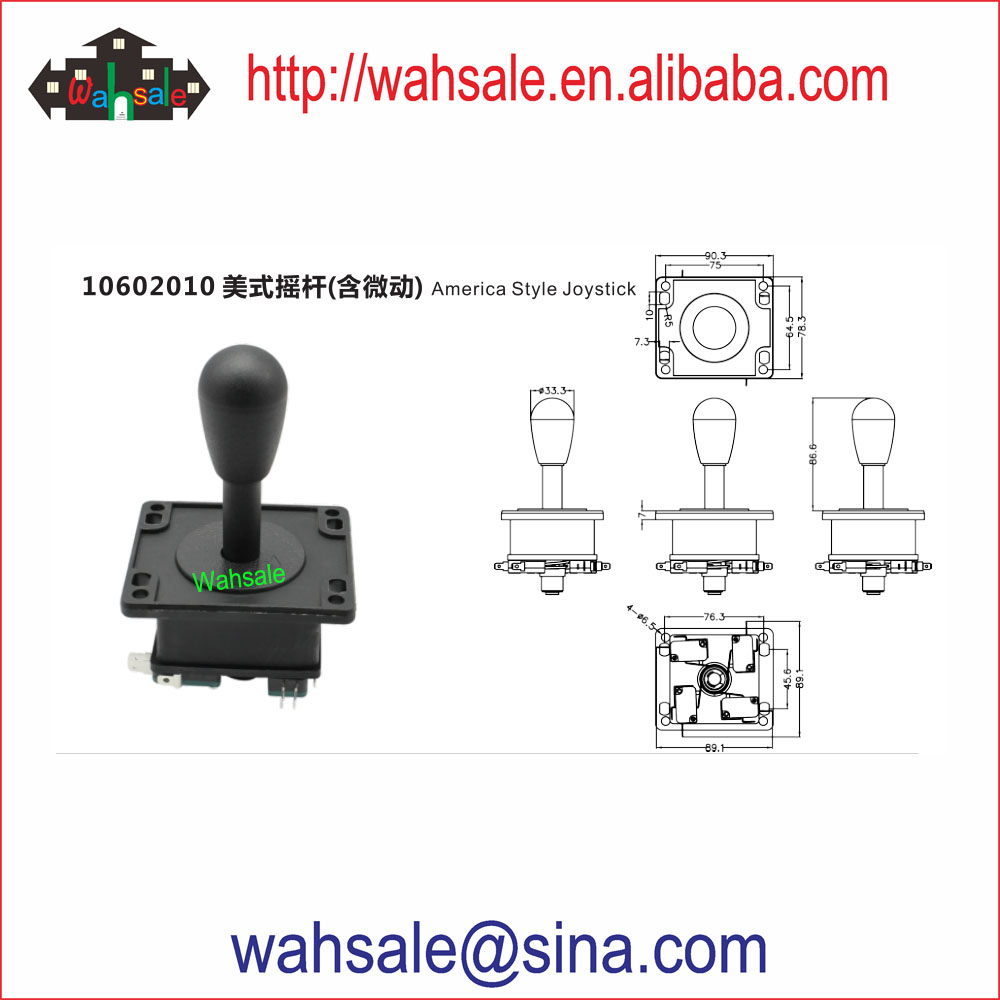 Joysticks spare part for arcade game machine accessories