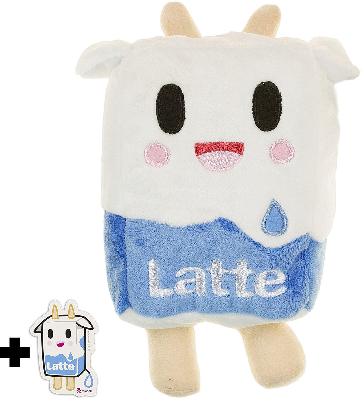 "Latte Moofia ~9"" Plush - Tokidoki Plush Series + 1 FREE Latte Mini-Sticker Bundle"