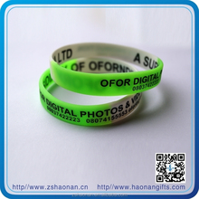 brand new Cheap logo custom silicone wristband for corporate anniversary gifts
