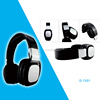 new arrival stereo sound magic wired headphone