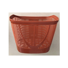 2018 hot-selling good quality wholesale colorful PP plastic plastic basket for bicycle