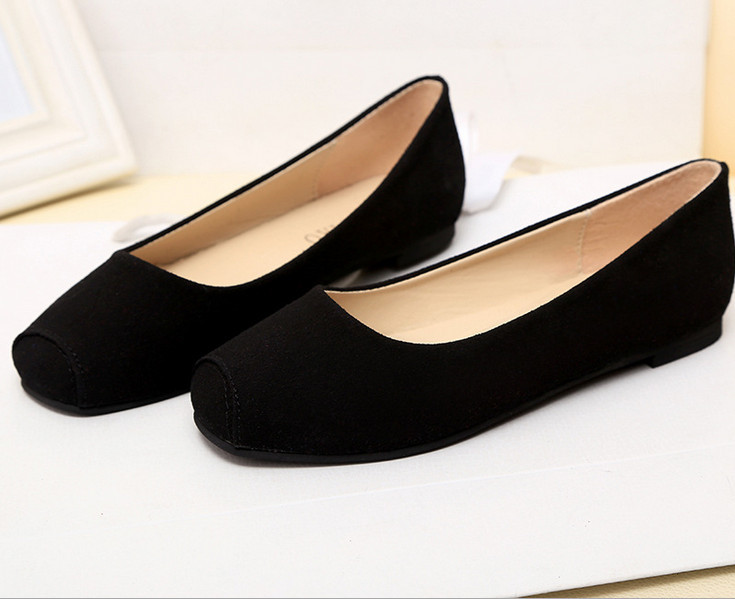 QY079 2015 women flats spring,autumn new arrival casual square solid slip-on flats