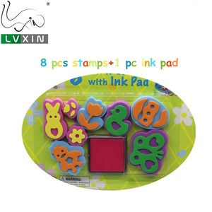 Amazon Festival Gift Foam Stamps Art Sets For Kids