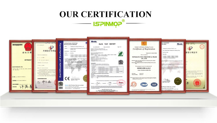 ISPINMOP จีนร้อนขายอินเดียใหม่ PP ขายส่งพลาสติกเมจิก EVA ไม้กวาด