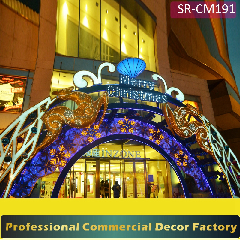 custom commercial shopping mall front door christmas decoration for hotel restaurant buy shopping mall front door christmas decorationshopping mall front - Glass Front Hotel Decoration