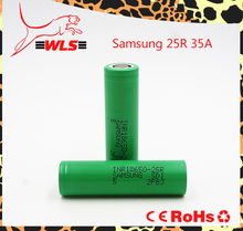 China factory price high energy Samsung 25r 18650 battery 3.7V 2500mah battery 35A rechargeable battery cells for ryobi