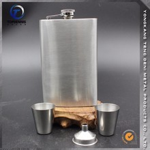 The factory wholesale promotional big hip flask